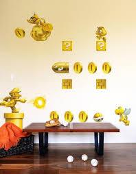 Super Mario Bedroom Decor Nintendo Wall Decals Nintendo Wall Decor Blik Wall Graphics