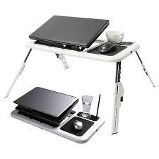 Laptop Desk Holder 2 Usb Cooling Fans Folding Laptop Desk Table Laptop Stand Desk