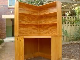 Diy Corner Desk Ideas by Corner Desk With Bookshelf 6270