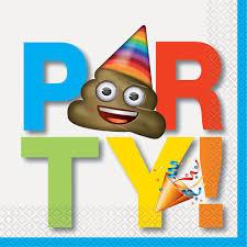 celebration emoji party napkins emoji party supplies