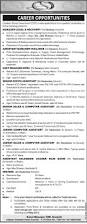 jobs in islamabad jobs in canteen stores department books worth