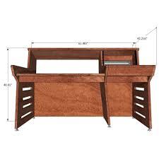 Recording Studio Desk For Sale by Sound Construction Api 1608 1 1 Straight Desk Cherry Studio