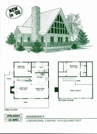 vacation home floor plans small modern cabin house plan by freegreen energy efficient