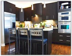 Dark Floor Kitchen by Kitchen Colors With Dark Floors Wood Floors