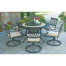 Members Mark Patio Grill Member U0027s Mark Madison 8 Piece Dining Set With Premium Sunbrella