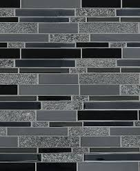 Black Subway Stone Glass Mosaic Tile Backsplashcom - Stone glass mosaic tile backsplash