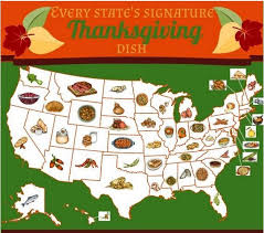 every state s signature thanksgiving dish mapped out huffpost