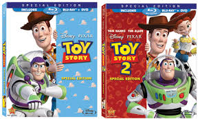 toy story 1 2 blu ray today review geekadelphia