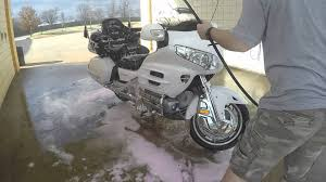 how to wash a goldwing youtube