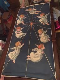 rare vintage 1960 u0027s sears roebuck angels large paper christmas