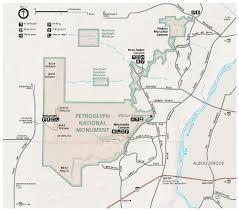 New Mexico Maps Petroglyph National Monument Albuquerque New Mexico Hikes