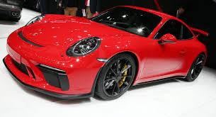 porsche gt3 price 2018 porsche 911 gt3 bows with 500 hp 4 0 liter and six speed manual