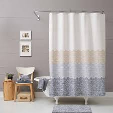 Gray And Brown Shower Curtain - better homes and gardens ombre shower curtain walmart com