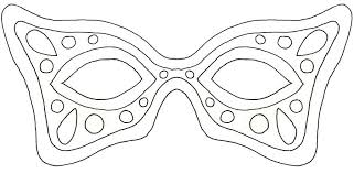 Mask Template by 17 Free Mardi Gras Mask Templates For And Adults