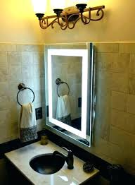 Extendable Magnifying Bathroom Mirror Magnifying Wall Mirror Makeup Mirror Square Wall Mounted Led