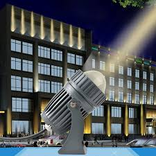 exterior spot light fixture 10w led outdoor waterproof wall explore light remote spotlight laser