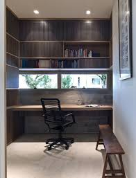 decorating creative built in studying desk on small space home