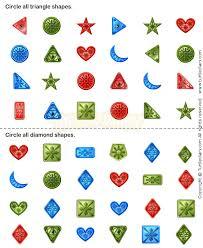 shapes11 math worksheets preschool worksheets geometry