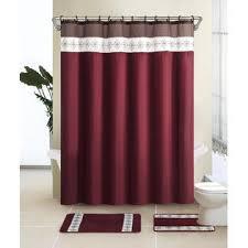 Burgundy Bathroom Accessories by Essential Home 15 Piece Bath Set Francesca Burgundy Home Bed