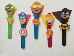 5 superhero crafts for kids superhero craft and woodworking