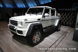 maybach landaulet mercedes maybach g 650 landaulet front three quarters at the iaa