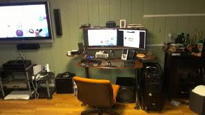 l shaped desk gaming setup thea galant goto of gamer best desks
