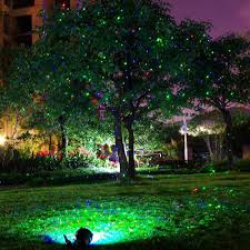 Outdoor Christmas Light Projector by Aliexpress Com Buy Rgb Static Outdoor Garden Decoration