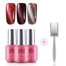 perfect summer 3d magnetic gel nail polish cat eye effect uv led