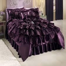 Purple Velvet Comforter Bejeweled Romance Comforter From Midnight Velvet Dazzling
