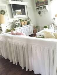 White Sofa Cover by Slipcovers Sofa Cover Ruffled Sofa Throw Ruffled Slipcover