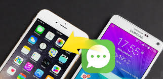 apple to android transfer how to transfer sms from android to iphone with ease