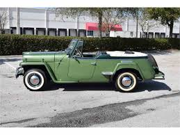 willys jeepster for sale 1950 willys jeepster for sale classiccars com cc 1026377