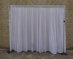 Pipe And Drape System For Sale Economy 1 Panel 2 Tone Curtain Backdrop 8ft Tall Or 8ft 10ft Tall