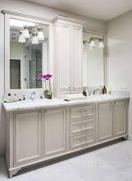 master ensuite with custom vanity shower panels pinterest