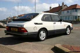 1991 saab 900 turbo dohc t16 s eyecatching in white very good