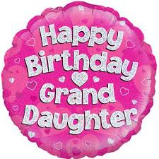birthday balloons in a box happy birthday grand pink holographic foil balloon