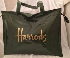 prada pvc handbags bags for ebay harrods large green patent pvc shopping tote carry all authentic