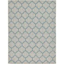 Yellow And Gray Outdoor Rug 9 X 12 Stain Resistant Outdoor Rugs Rugs The Home Depot
