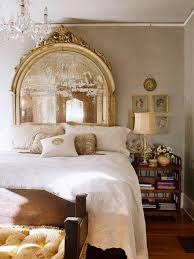 romantic vintage modern antiqued mirror headboards being tazim