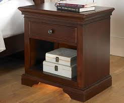 natural wood night stand rustic u2014 new decoration natural wood