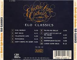 Electric Light Orchestra Telephone Line Cd Album Electric Light Orchestra Elo Classics Cbs Special