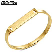 Custom Gold Bracelets Personalized Gold Bracelet Promotion Shop For Promotional