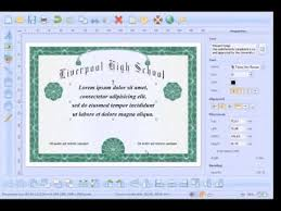 easiest online high school how to create and print high school diploma