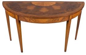 Half Moon Side Table Antique Half Moon Table