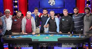 2017 world series of poker final table world series of poker main event reaches final table poker news