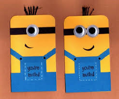 diy minion invitations minion despicable me birthday party ideas pink lover