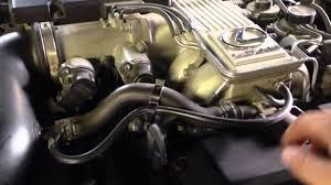 lexus sc300 egr valve ls400 power steering idle up valve delete youtube