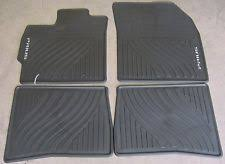 toyota prius floor mats 2007 2012 toyota prius oem all weather floor mats set of 4