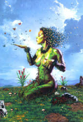 mothers earth gaia goddess as nature