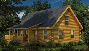 rockbridge 2 rear elevation southland log homes little cabins